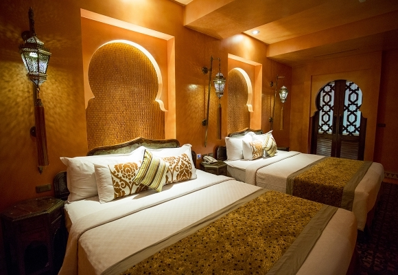 Golden Sahara Quad Room